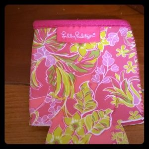 New without tags Lilly Pulitzer drink Coozie